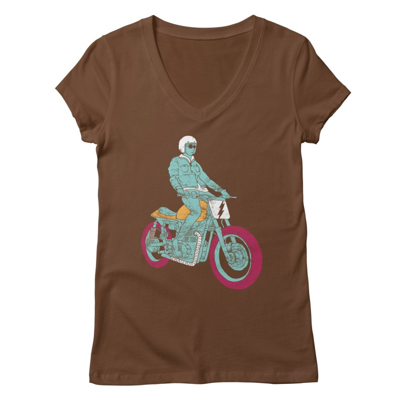 normal Women's V-Neck by junkers's Shop