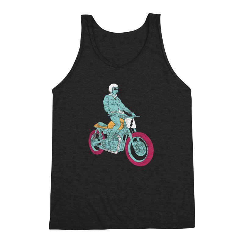 normal Men's Triblend Tank by junkers's Shop