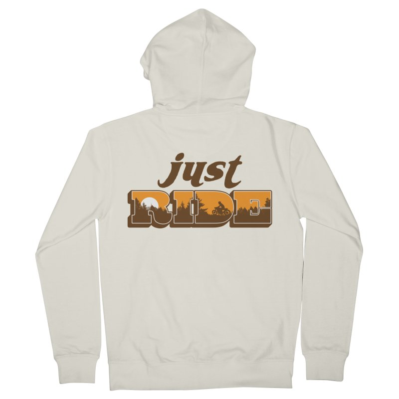 just ride Women's Zip-Up Hoody by junkers's Shop