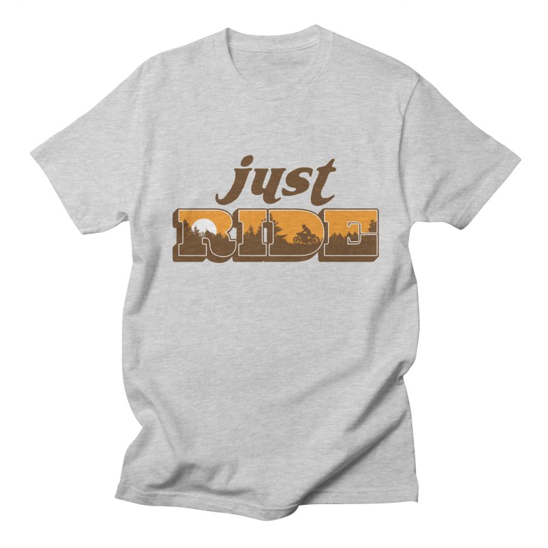 just ride Men's T-shirt by junkers's Shop