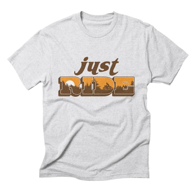 just ride Men's Triblend T-Shirt by junkers's Shop