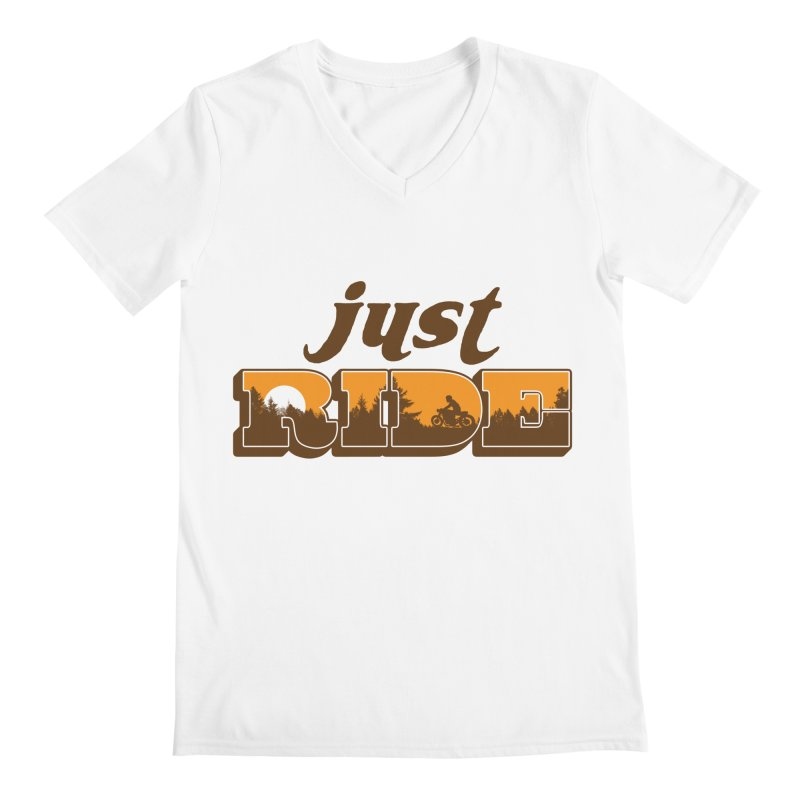 just ride Men's V-Neck by junkers's Shop