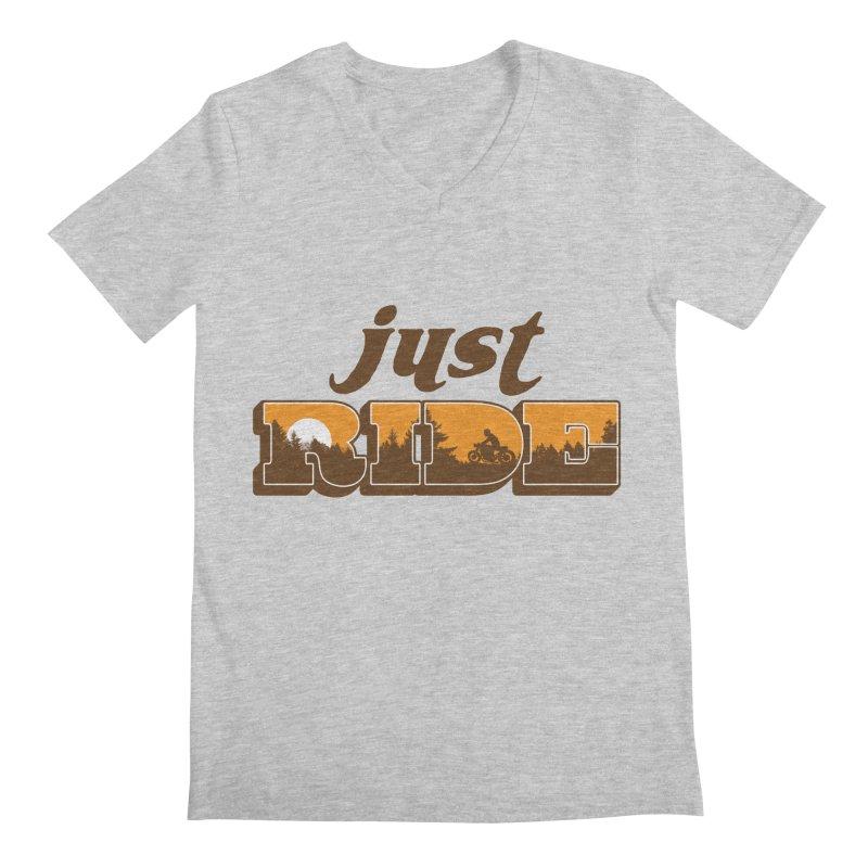 just ride Men's V-Neck by junkers's Shop