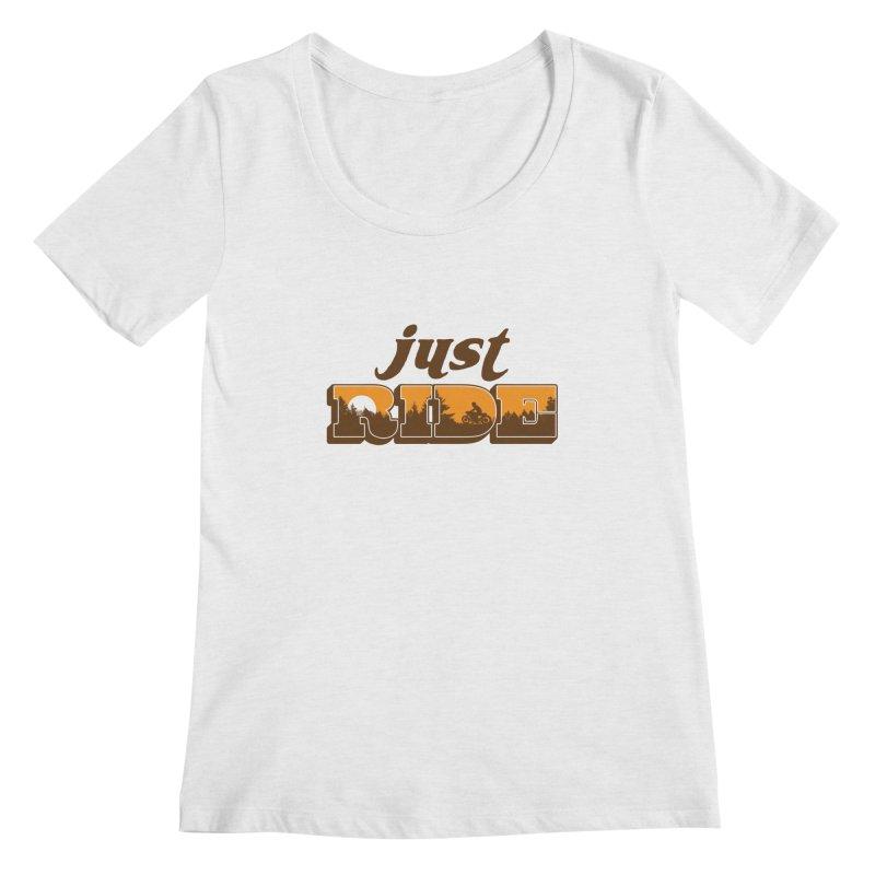 just ride Women's Scoopneck by junkers's Shop