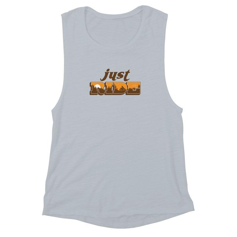 just ride Women's Muscle Tank by junkers's Shop