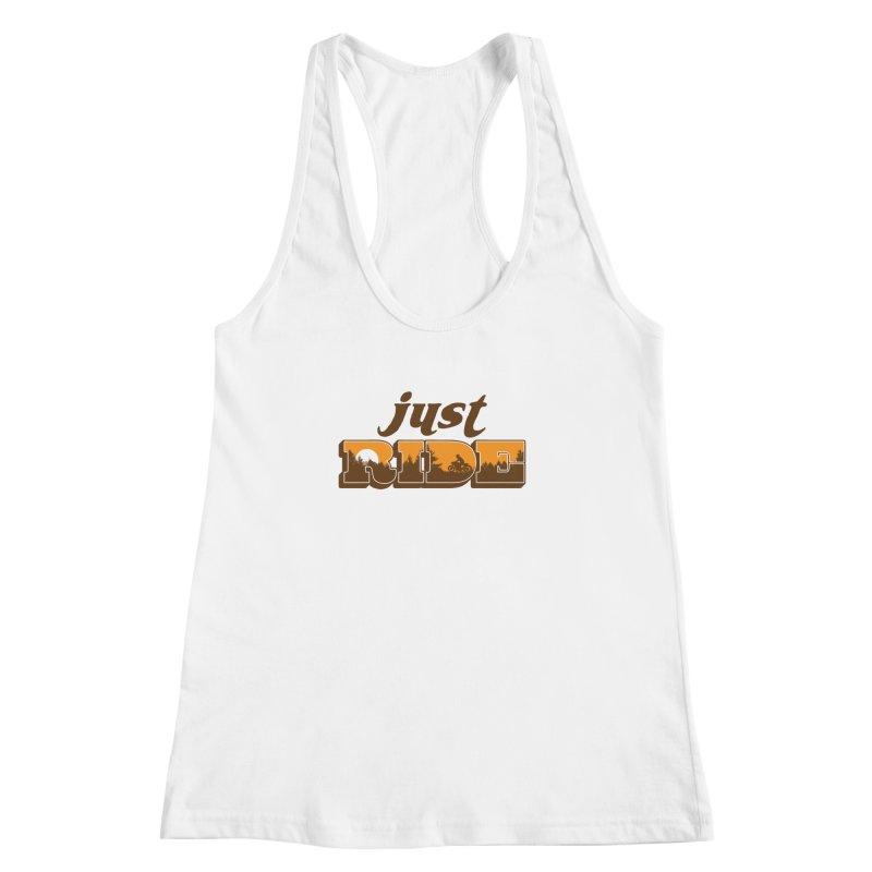 just ride Women's Racerback Tank by junkers's Shop