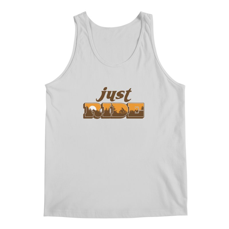 just ride Men's Tank by junkers's Shop