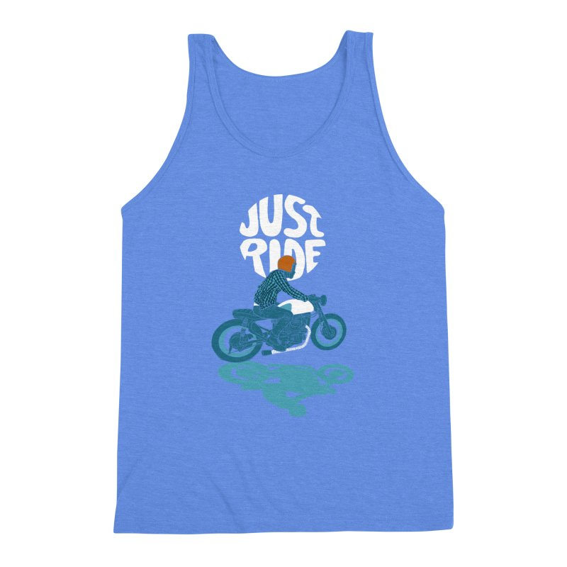 jr Men's Triblend Tank by junkers's Shop