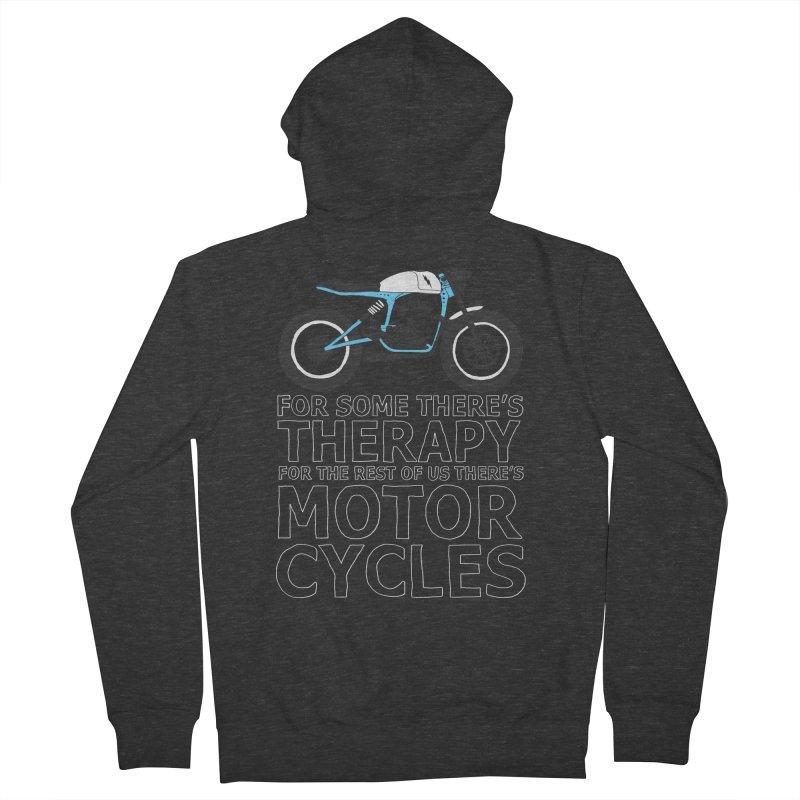 motorcycles Women's Zip-Up Hoody by junkers's Shop