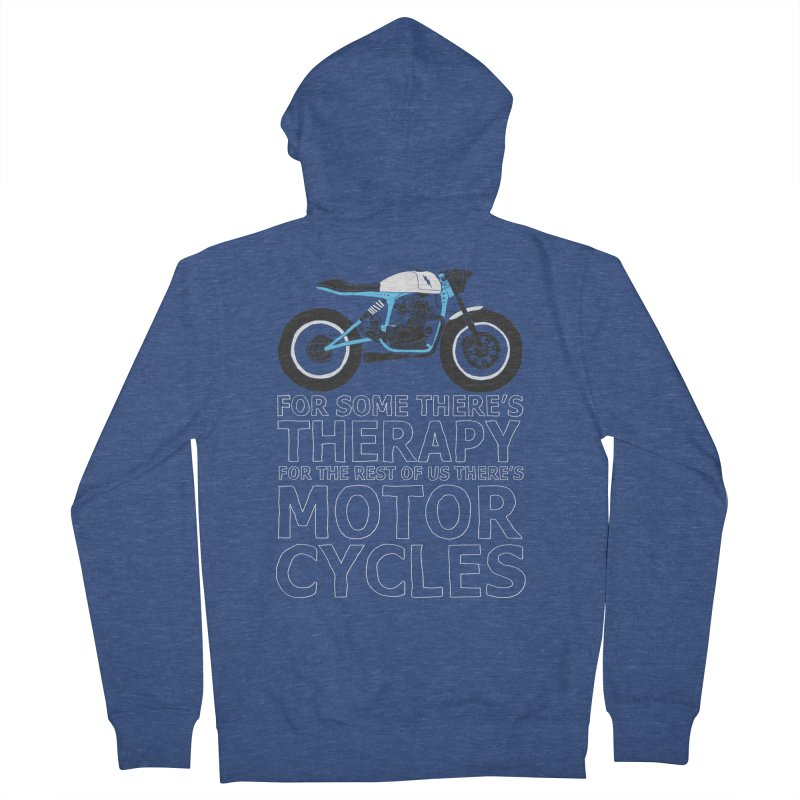 motorcycles Women's Zip-Up Hoody by junkers's Shop