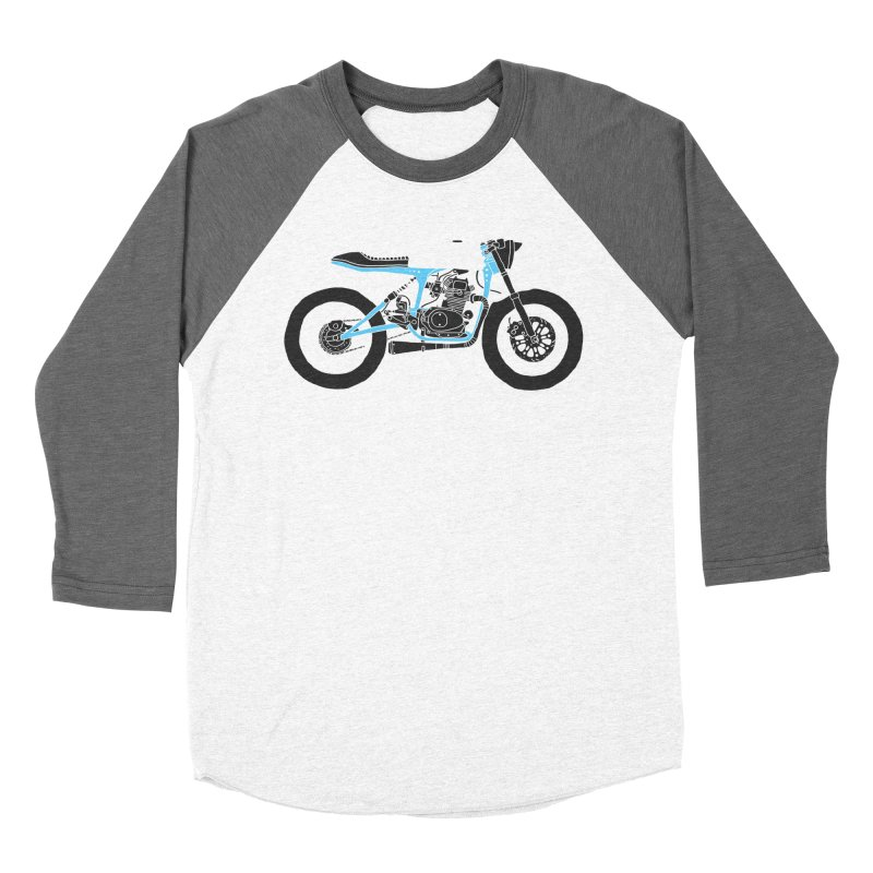 motorcycles Women's Baseball Triblend T-Shirt by junkers's Shop