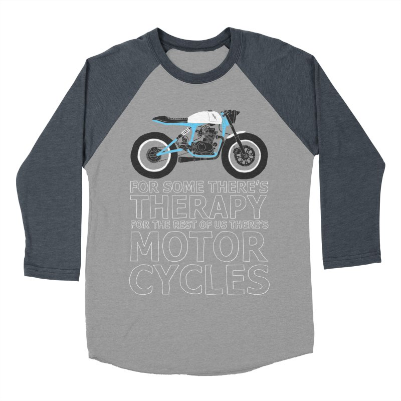 motorcycles Men's Baseball Triblend T-Shirt by junkers's Shop