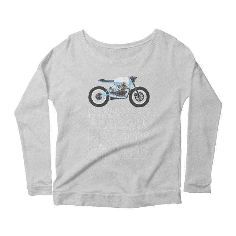 motorcycles Women's Longsleeve Scoopneck  by junkers's Shop