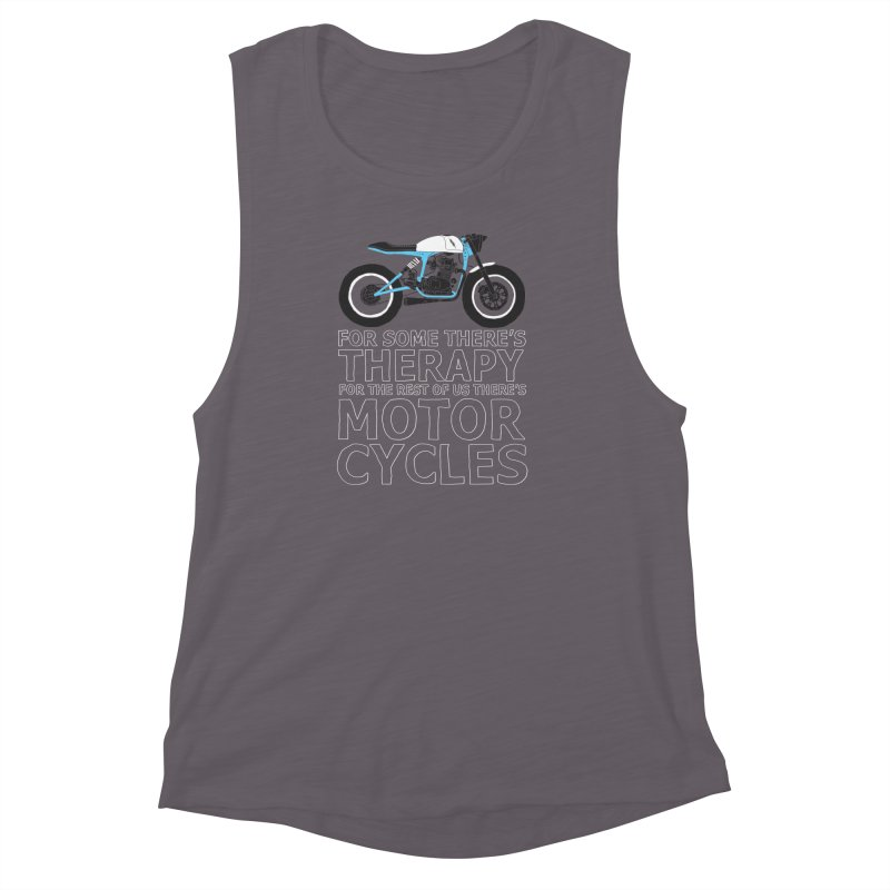 motorcycles Women's Muscle Tank by junkers's Shop
