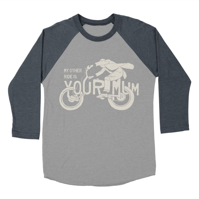 other ride Men's Baseball Triblend T-Shirt by junkers's Shop