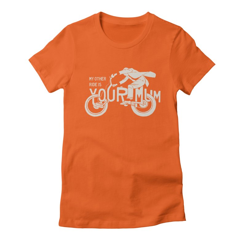 other ride Women's Fitted T-Shirt by junkers's Shop