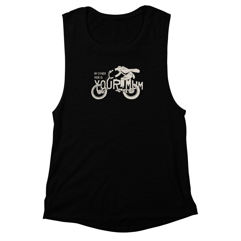 other ride Women's Muscle Tank by junkers's Shop