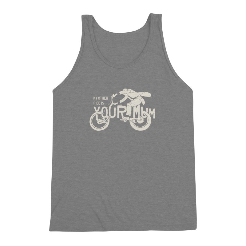 other ride Men's Triblend Tank by junkers's Shop
