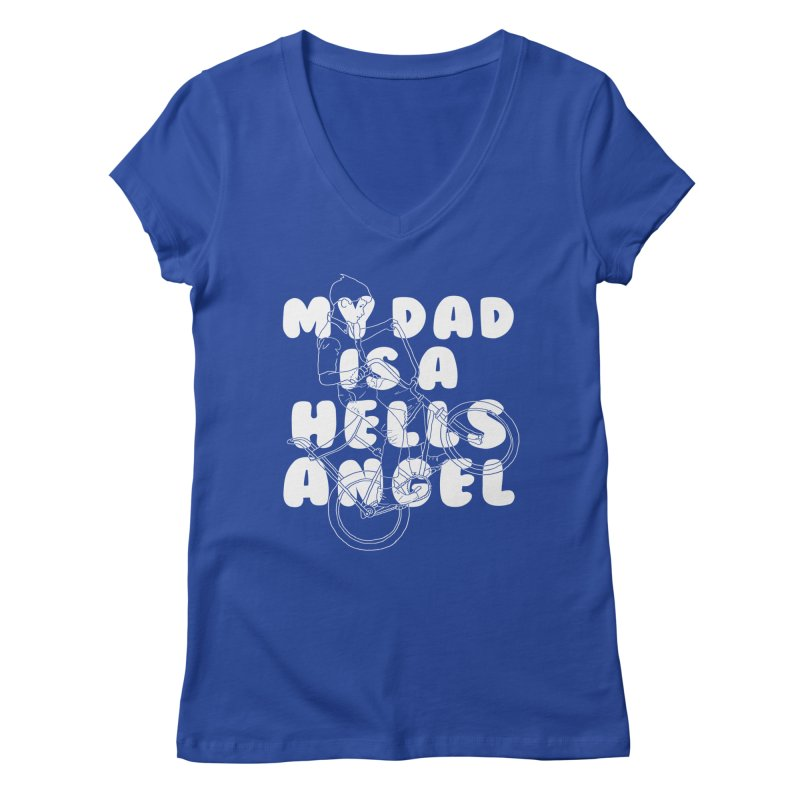 angel Women's V-Neck by junkers's Shop
