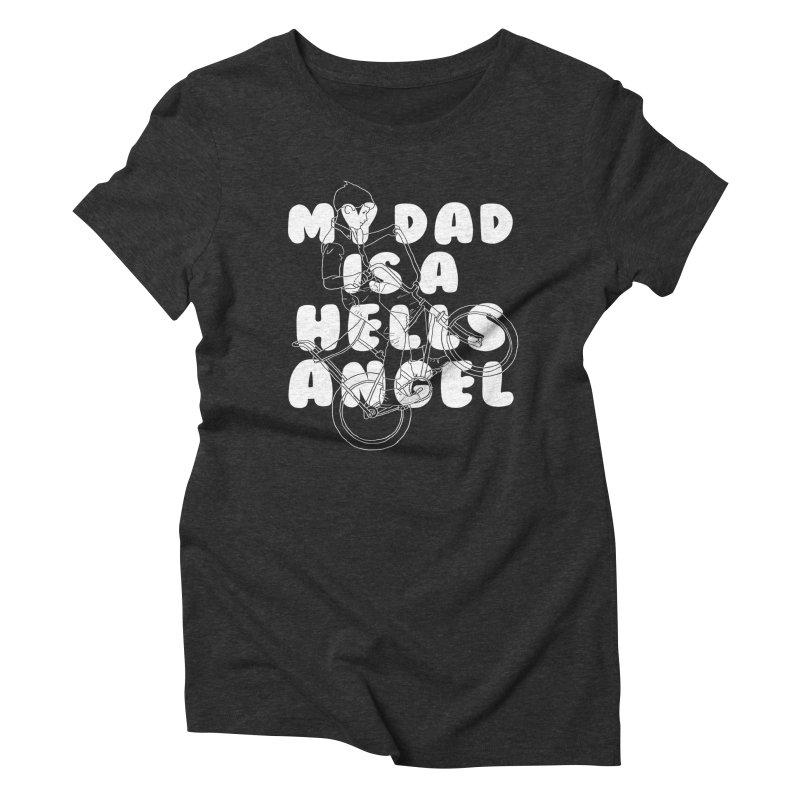 angel Women's Triblend T-Shirt by junkers's Shop
