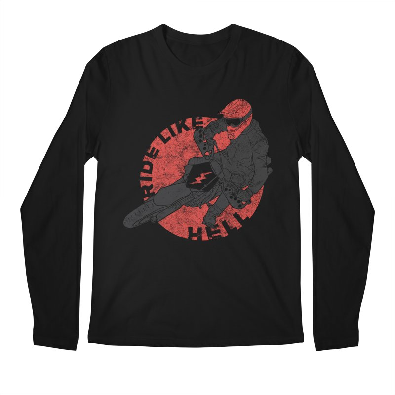 supermoto Men's Longsleeve T-Shirt by junkers's Shop
