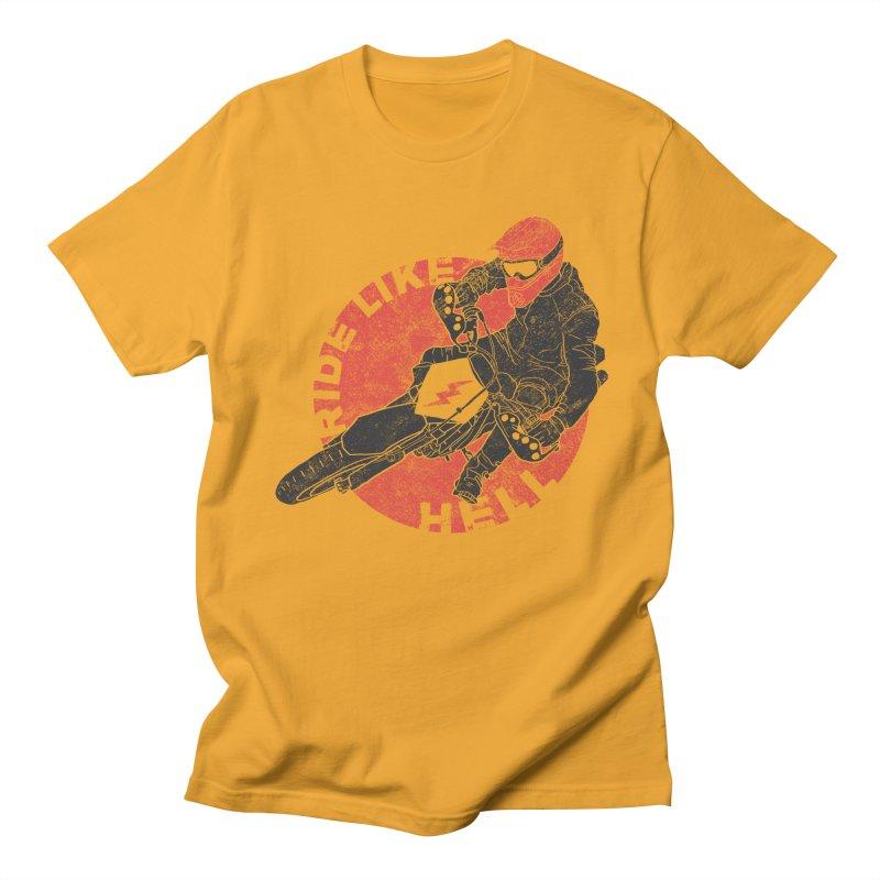 supermoto Men's T-shirt by junkers's Shop
