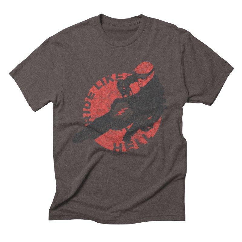 supermoto Men's Triblend T-Shirt by junkers's Shop
