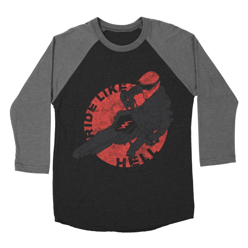supermoto Men's Baseball Triblend T-Shirt by junkers's Shop