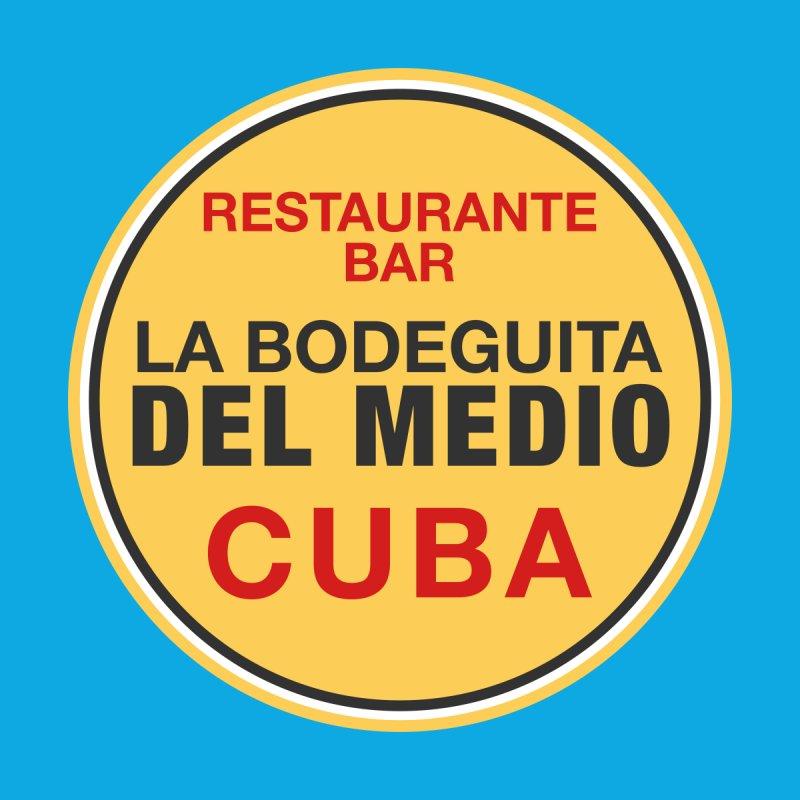 La Bodeguita Del Medio Home Fine Art Print by Cuba Junky's Gift Shop