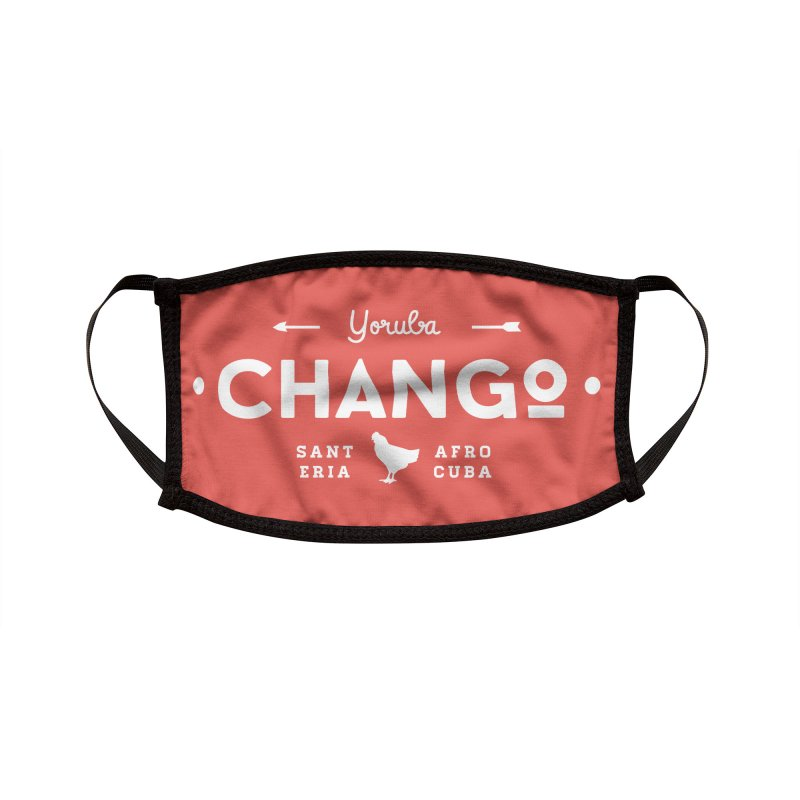 Chango Accessories Face Mask by Cuba Junky's Gift Shop