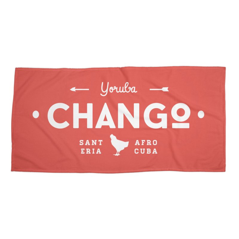 Chango Accessories Beach Towel by Cuba Junky's Gift Shop