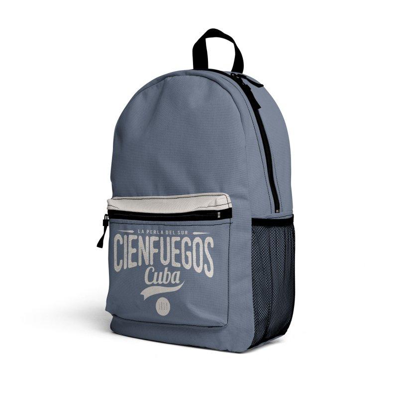 Cienfuegos Vintage Grunge Logo Accessories Bag by Cuba Junky's Gift Shop