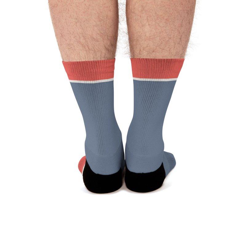 Cienfuegos Vintage Grunge Logo Men's Socks by Cuba Junky's Gift Shop
