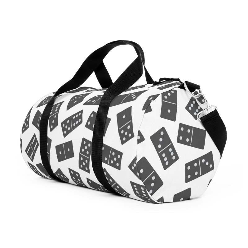 Black Domino Accessories Bag by Cuba Junky's Gift Shop