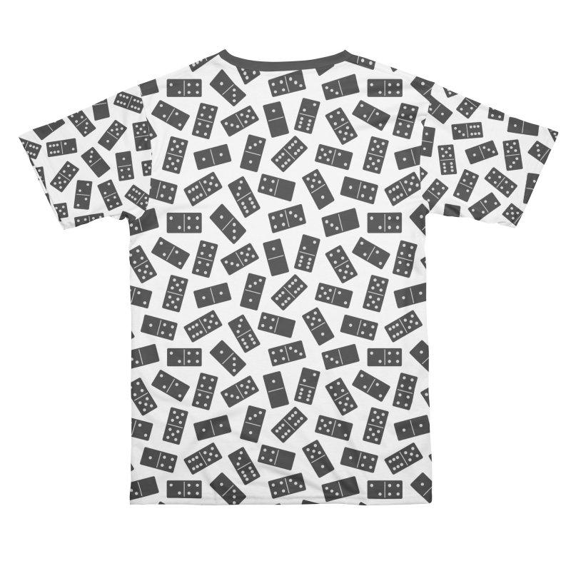Black Domino Men's Cut & Sew by Cuba Junky's Gift Shop