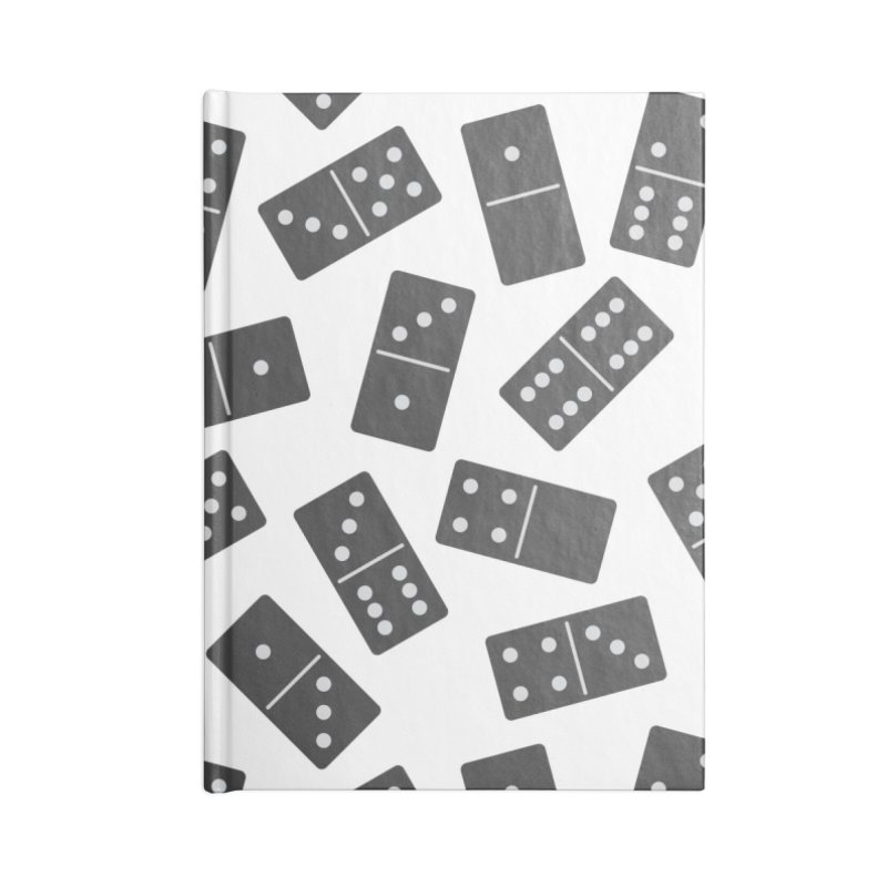 Black Domino Accessories Notebook by Cuba Junky's Gift Shop