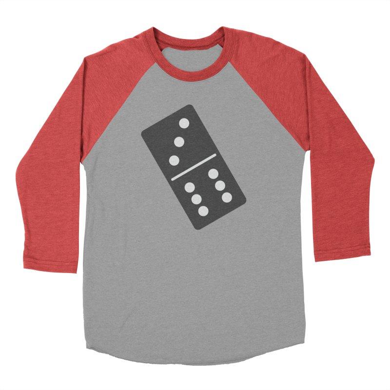Black Domino Men's Longsleeve T-Shirt by Cuba Junky's Gift Shop