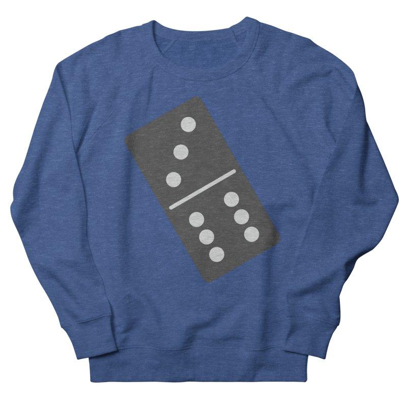 Black Domino Men's Sweatshirt by Cuba Junky's Gift Shop