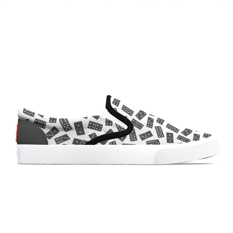 Black Domino Men's Shoes by Cuba Junky's Gift Shop