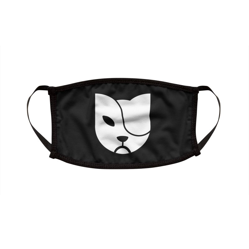 Gato Tuerto Habana Cuba Accessories Face Mask by Cuba Junky's Gift Shop