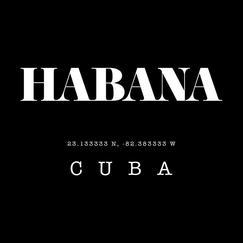 Habana Cuba GPS Coordinates Accessories Sticker by Cuba Junky's Gift Shop