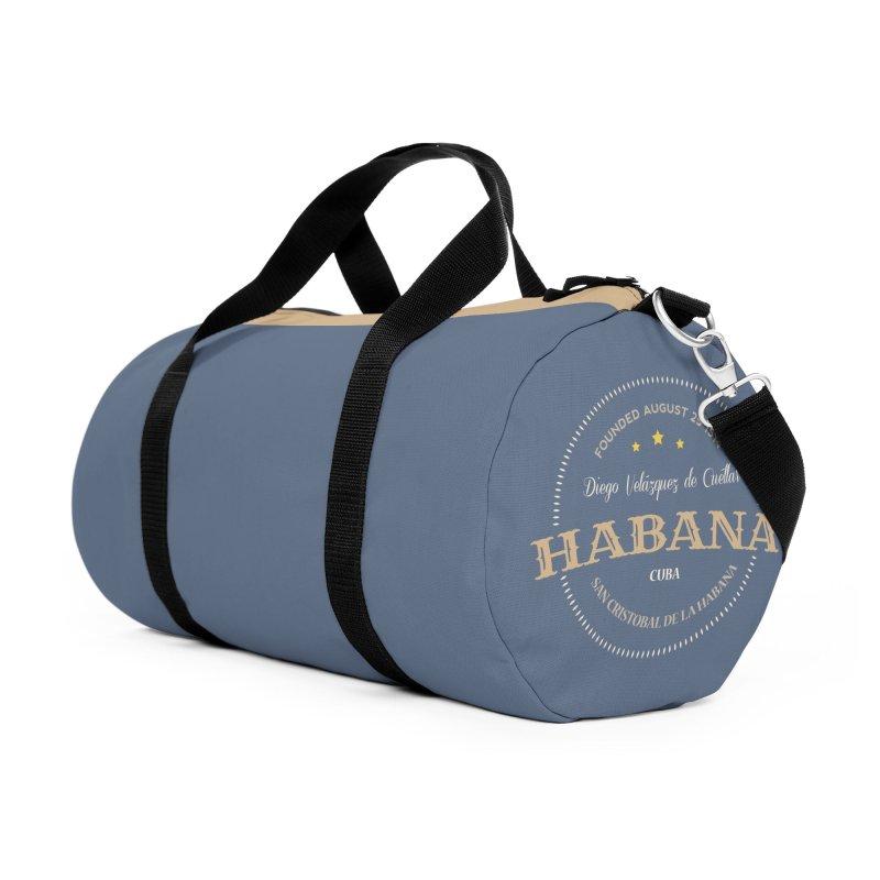 Havana 1514 Vintage Badge Accessories Bag by Cuba Junky's Gift Shop