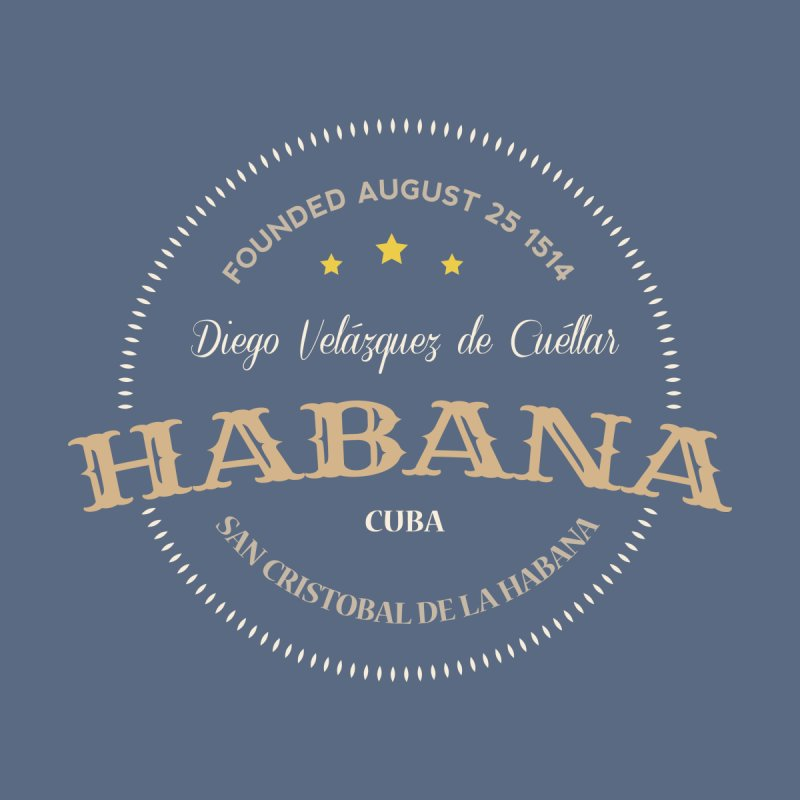 Havana 1514 Vintage Badge Men's T-Shirt by Cuba Junky's Gift Shop