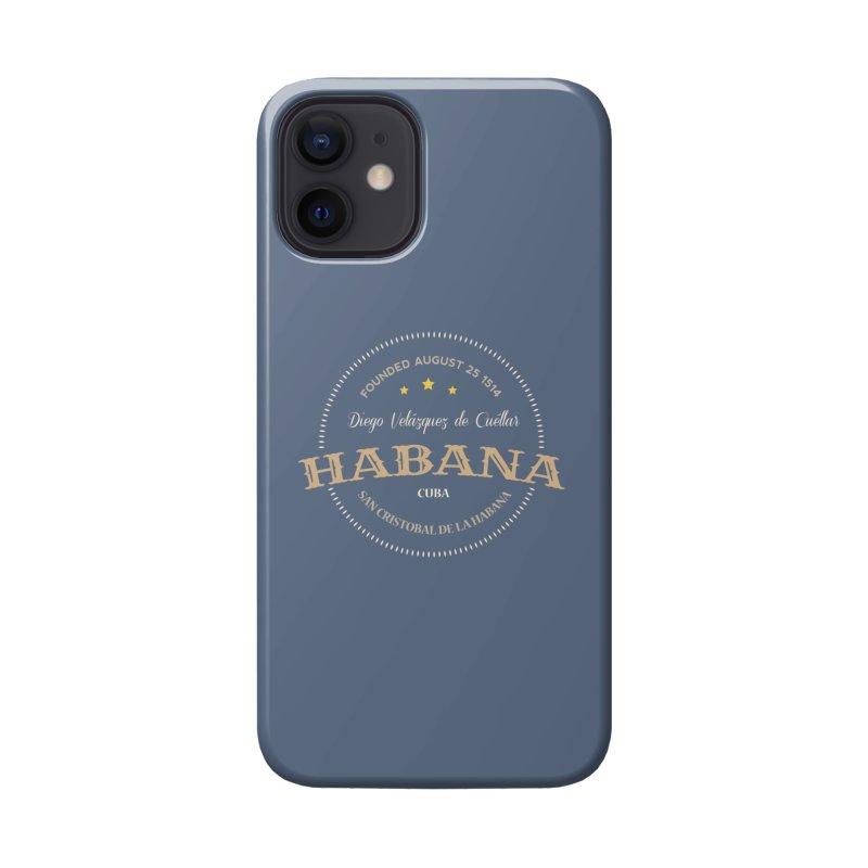 Havana 1514 Vintage Badge Accessories Phone Case by Cuba Junky's Gift Shop