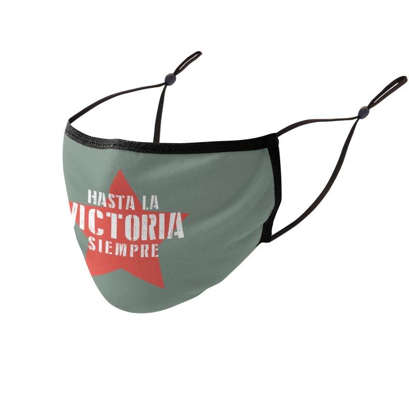Hasta La Victoria Siempre Accessories Face Mask by Cuba Junky's Gift Shop