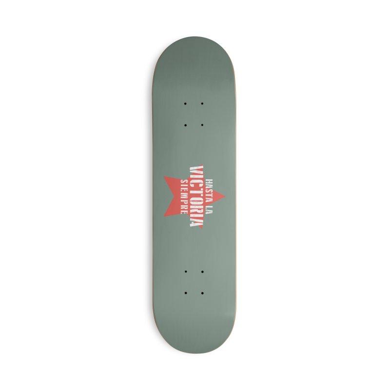 Hasta La Victoria Siempre Accessories Skateboard by Cuba Junky's Gift Shop