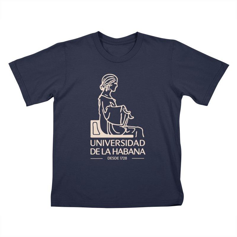 Universidad De La Habana Kids T-Shirt by Cuba Junky's Gift Shop