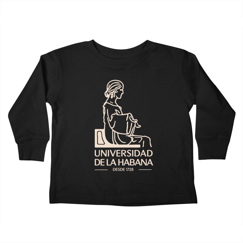 Universidad De La Habana Kids Toddler Longsleeve T-Shirt by Cuba Junky's Gift Shop