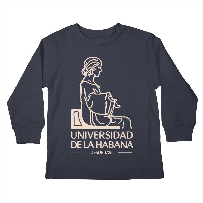 Universidad De La Habana Kids Longsleeve T-Shirt by Cuba Junky's Gift Shop
