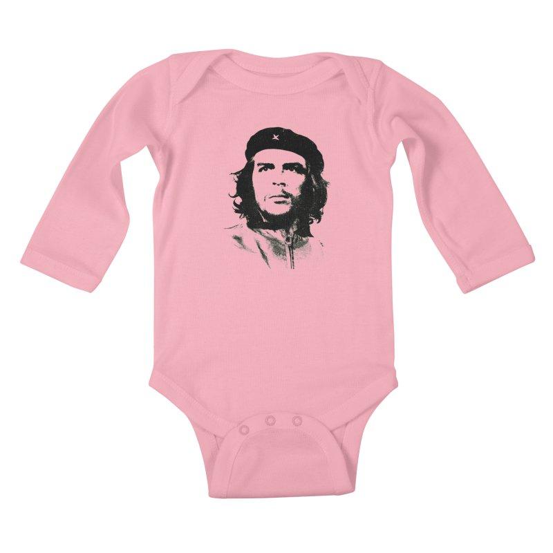 Che Guevara Kids Baby Longsleeve Bodysuit by Cuba Junky's Gift Shop